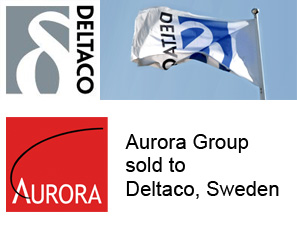 Aurora Group sold to Deltaco, Sweden